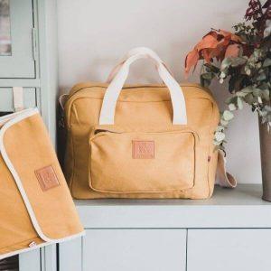 Bolsa de Maternidad Canvas Ocre My Bags