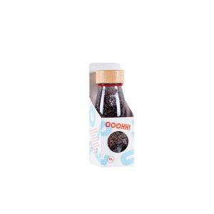 Botella Sensorial Float Bottle Black Petit Boum